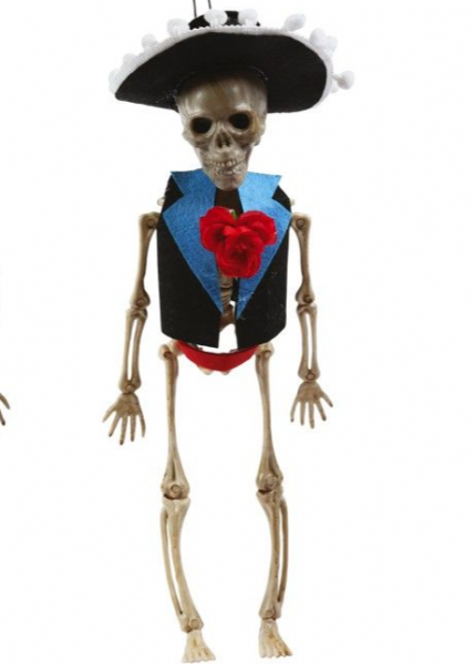 Mexican Skeleton Groom Hanging Dec